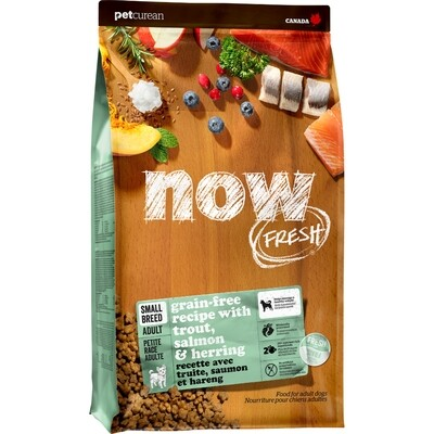 NOW TROUT, SALMON, HERRING SM BREED ADULT 1.6KG