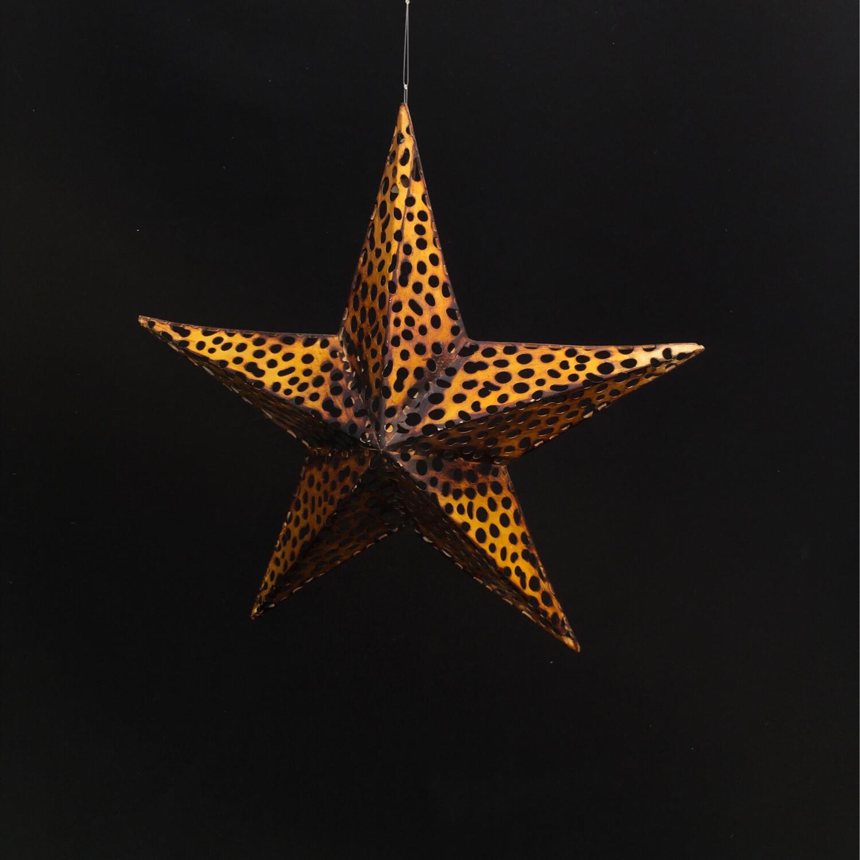 Small Golden Metal Star