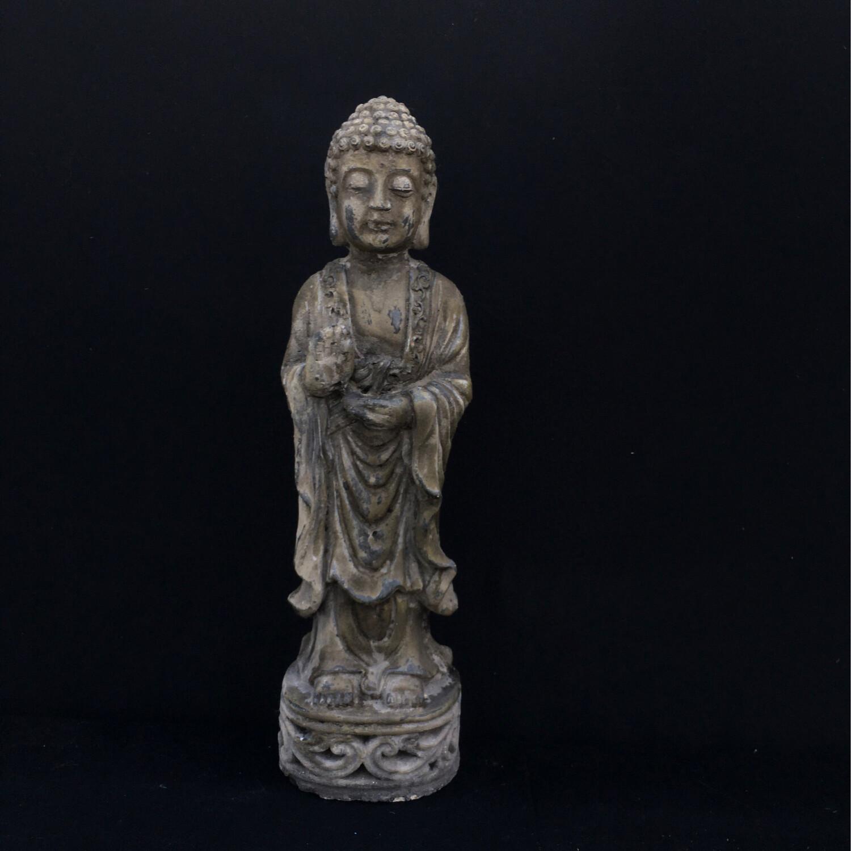 Tall Buddha Garden Figurine