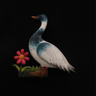 Blue Duck Garden Stake Decor