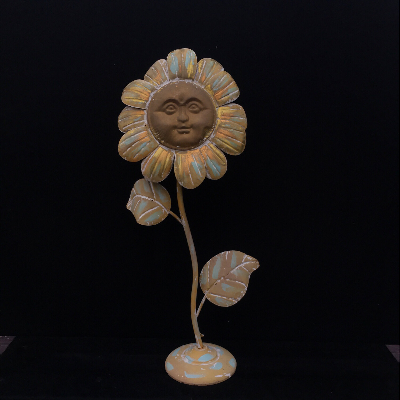Smiling Sunflower Stake