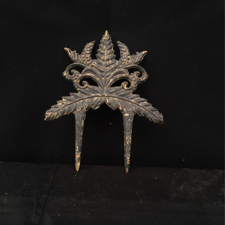 Ornate Cast Iron Garden Hose Guide
