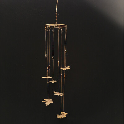 Hanging Butterfly Metal Wind Chime