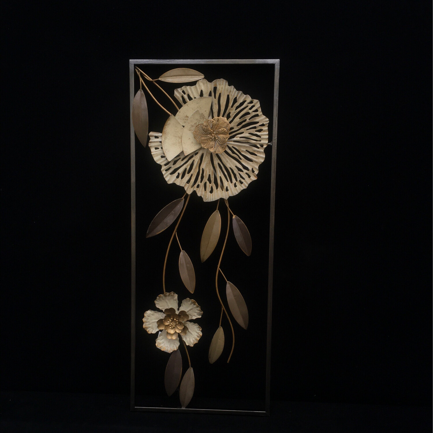 Floral Metal Picture Frame