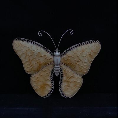 Golden Butterfly Wall Ornament