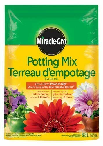 Miracle Gro Potting Mix Soil