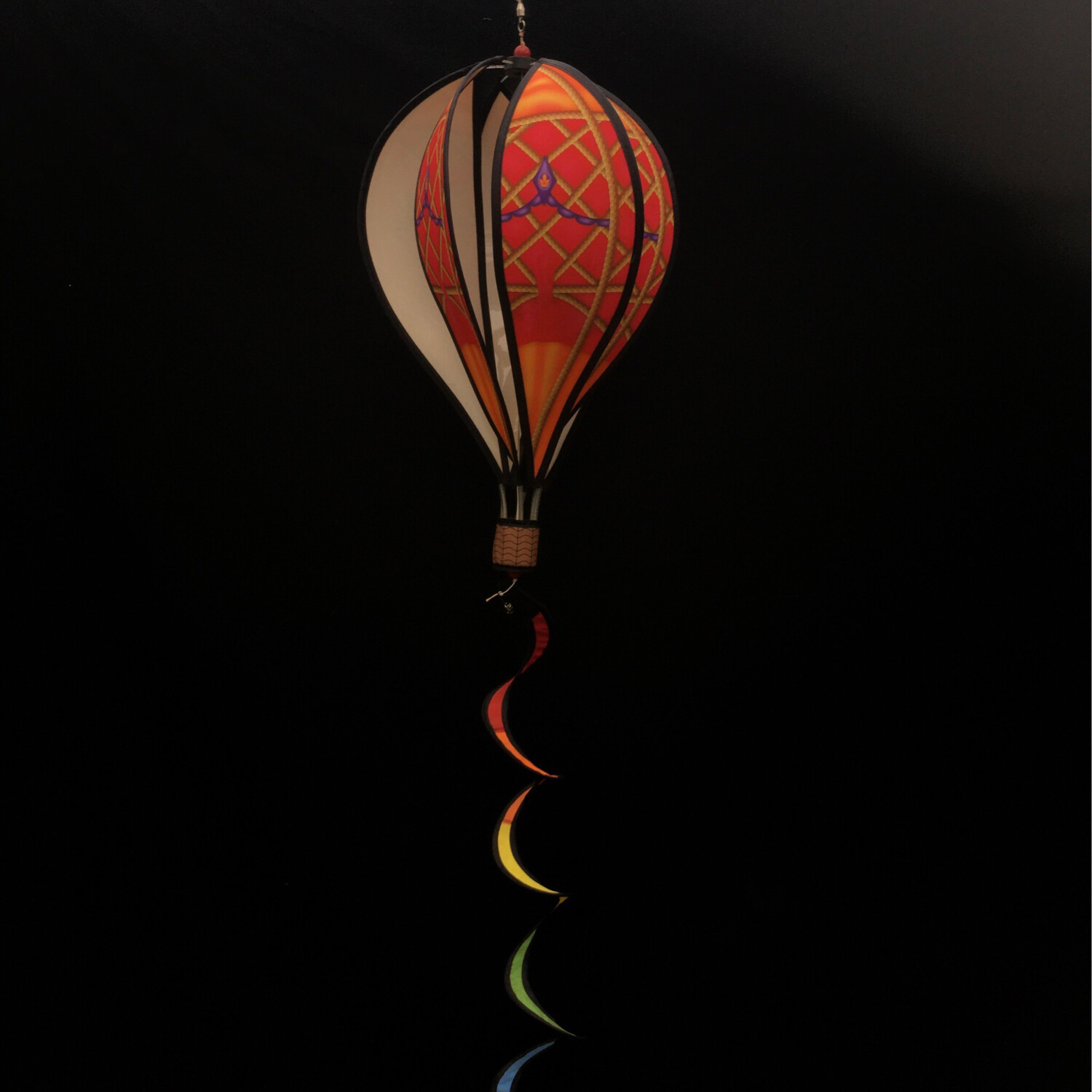 Air Balloon Spinner - Red & Orange