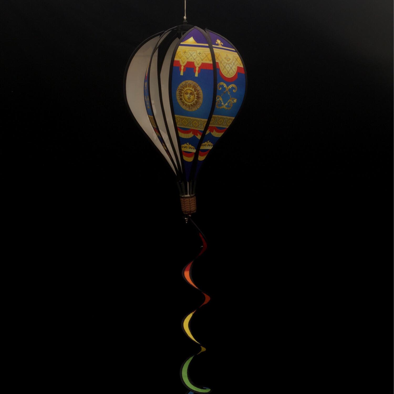Air Balloon Spinner - Blue & Gold