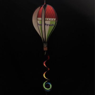 Air Balloon Spinner - Green & Red