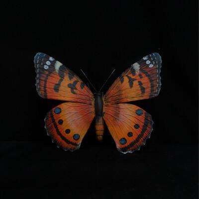 Monarch Butterfly Metal Wall Ornament