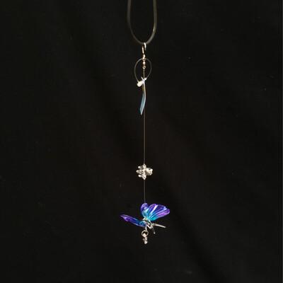 Crystal Art Butterfly - Blue