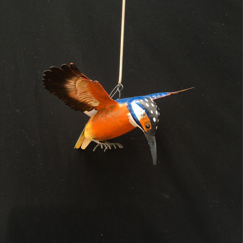 Metal Woodpecker