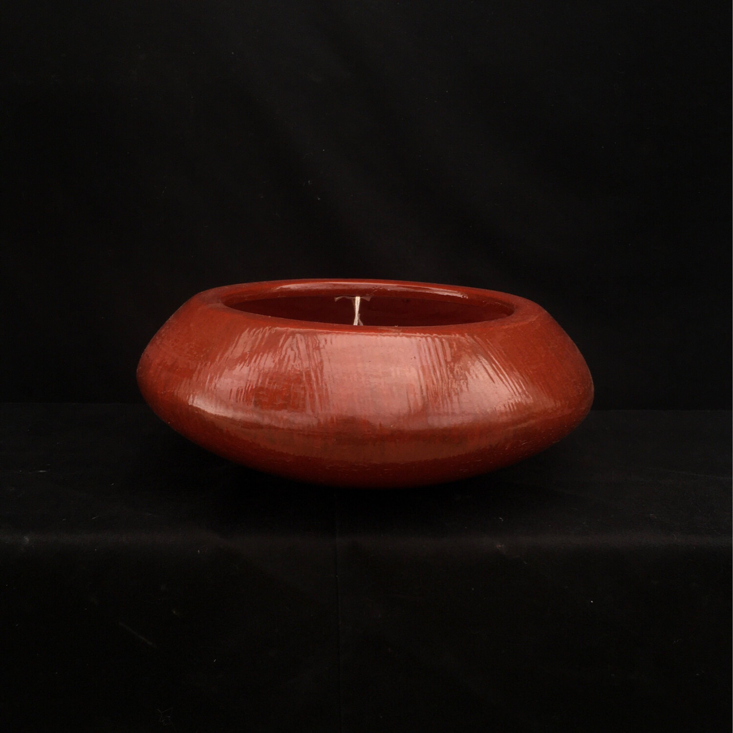 Wide Red Pot Planter