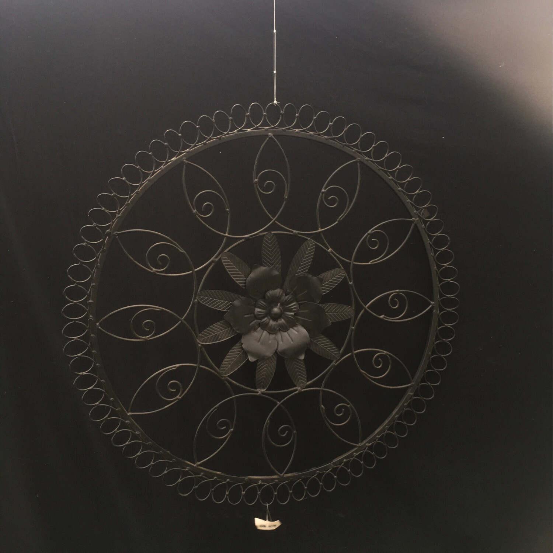 Round Wall Metal Decor