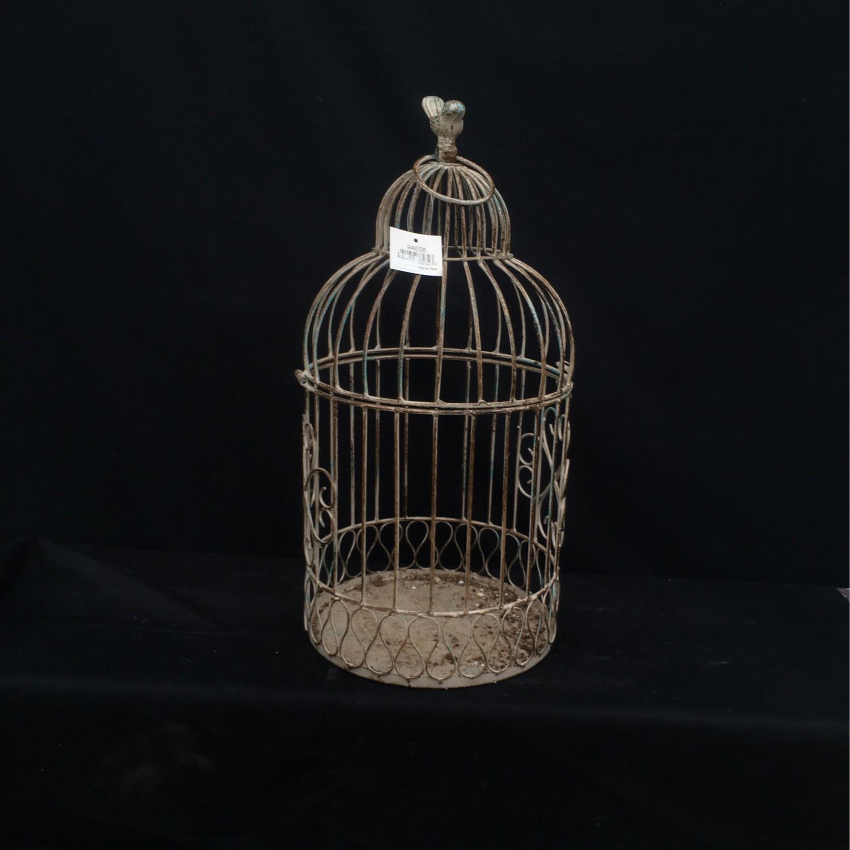 Small Ornate Metal Bird Cage