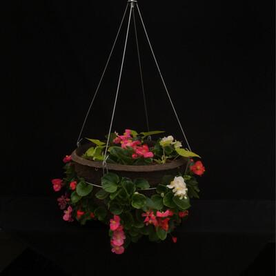 """14"""" Hanging Basket - Shade"""