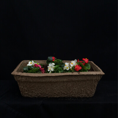 Short Fiber Window Box - Shade