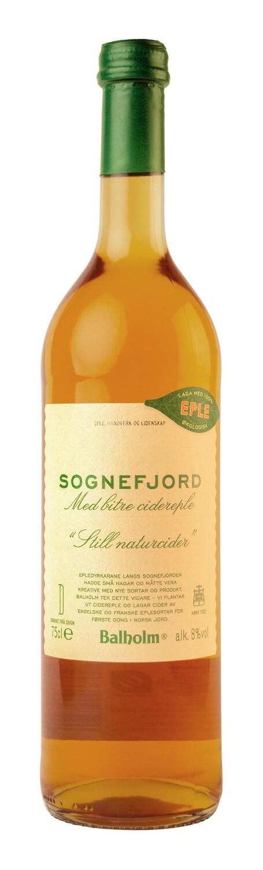Sognefjord eplecider 8 Vol %