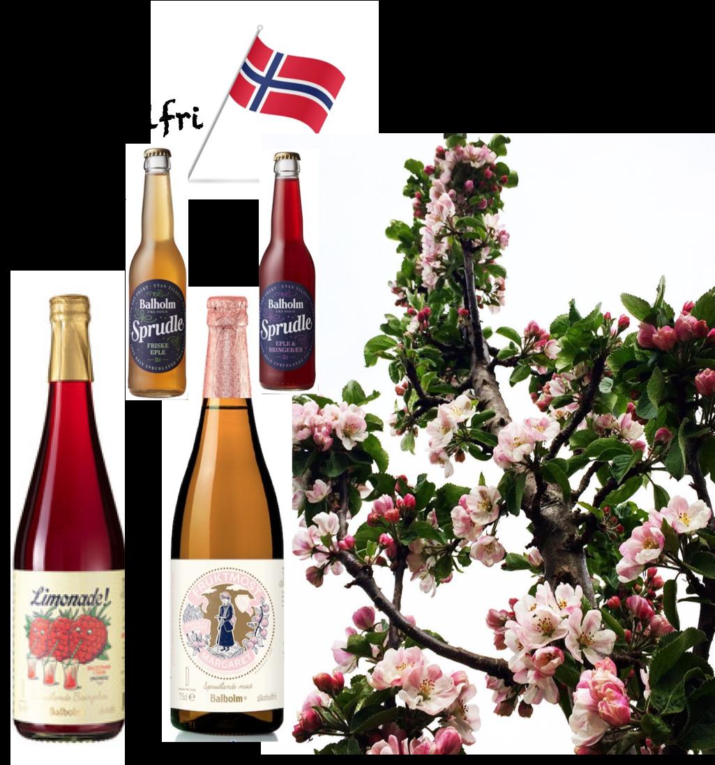 Vårpakke alkoholfrie Balholmprodukt