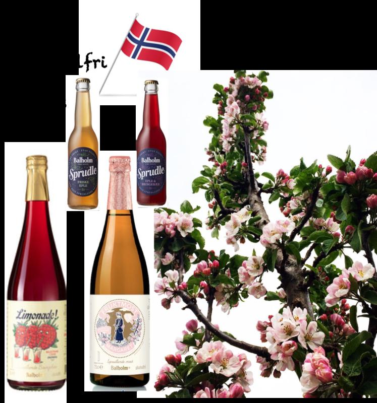 Maipakke alkoholfrie Balholmprodukt