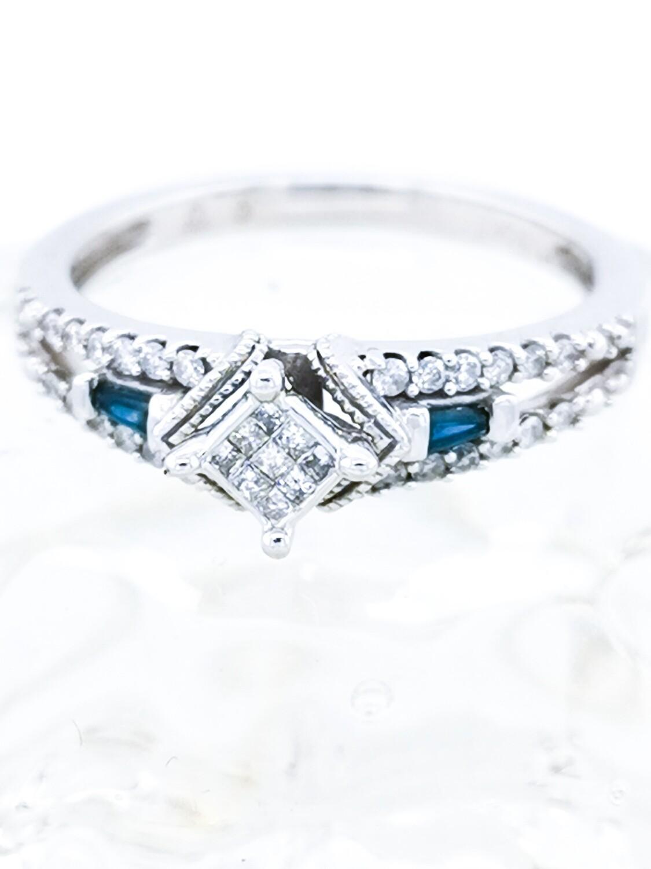 880-22 Vintage Art Deco Ring