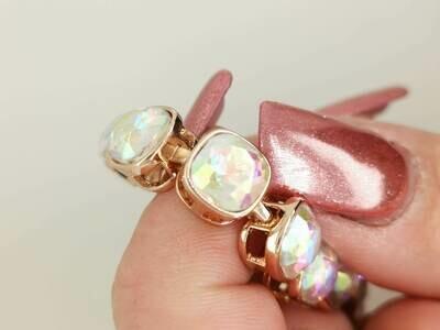 Jacqueline Kent JKB295.GO 730-22-3580 Crystal Bracelet