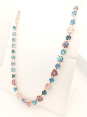 Mariana Teal Mix RG Necklace