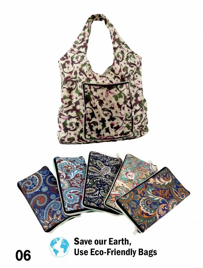 616-20-0307 BG1083 BG1327 Reusable folding shopping bag