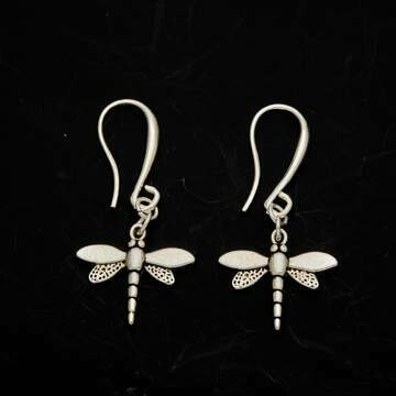720-122-102 Dragon Fly Earring