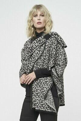 Leopard  Jacquard Wrap