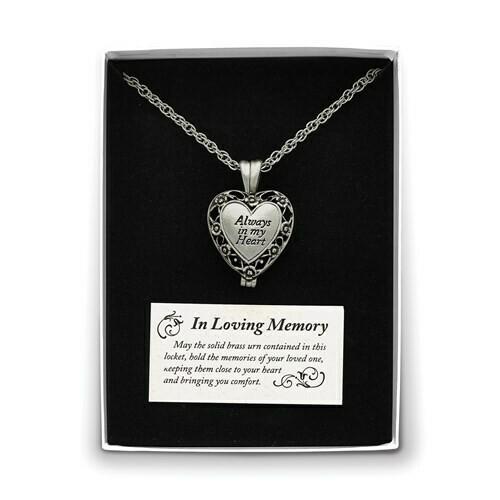 My Heart Silverstone Memorial Ash Holder