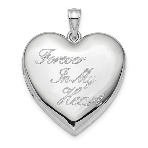 850-32-QLS869 QC RH Plated Forever in my Heart Ash holder R115