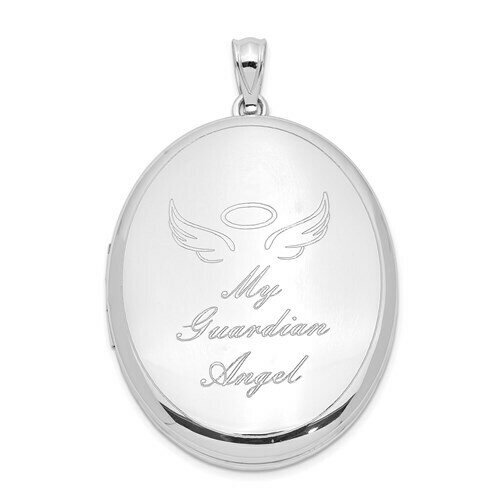 850-32-QLS994 QC Rho plated Guardian Angel Ash holder R120