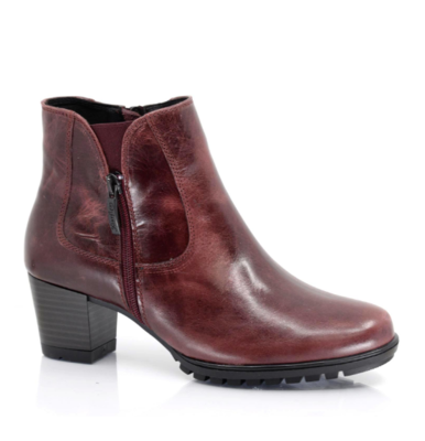 Florence Leather Bootie Taxi