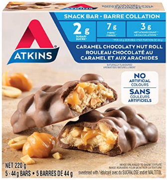 KETO Atkins Caramel Chocolate Snack Bar