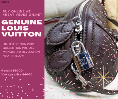 880-26 Louis Vuitton 2012 Limited Edition Revelatation Bag R4000