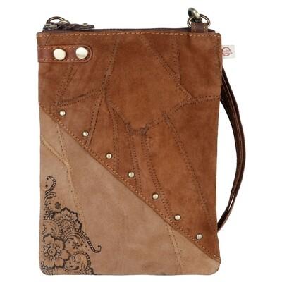 600-VB111-P15 Soho Crossbody - Upcycled Genuine Leather