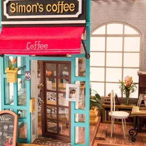 680-144-DG109 Simon's coffee DIY puzzle kit R70