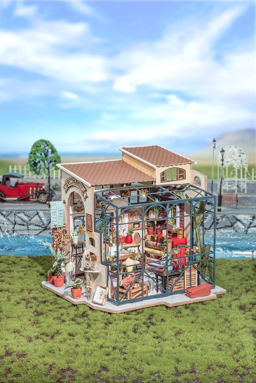 680-144-DG145 Flower shop DIY puzzle kit R70