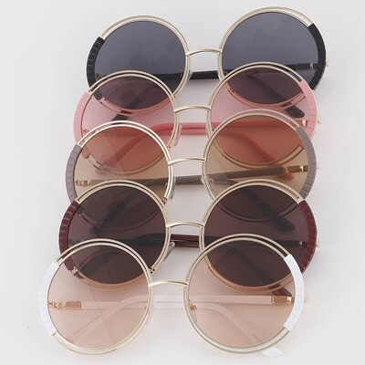 620-144-F2050 Round Sunglasses