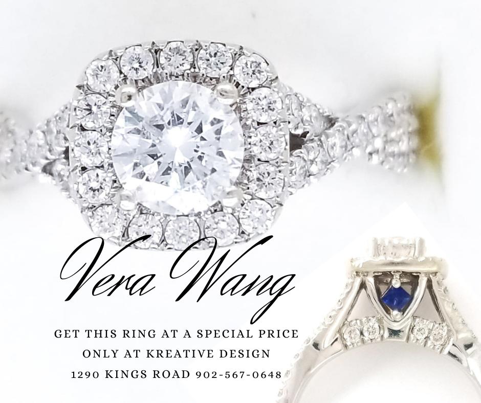 Vera Wang Diamond Sapphire