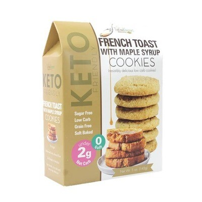 KETO TOO GOOD GOURMET FRENCH TOAST COOKIES PACKAGED R14