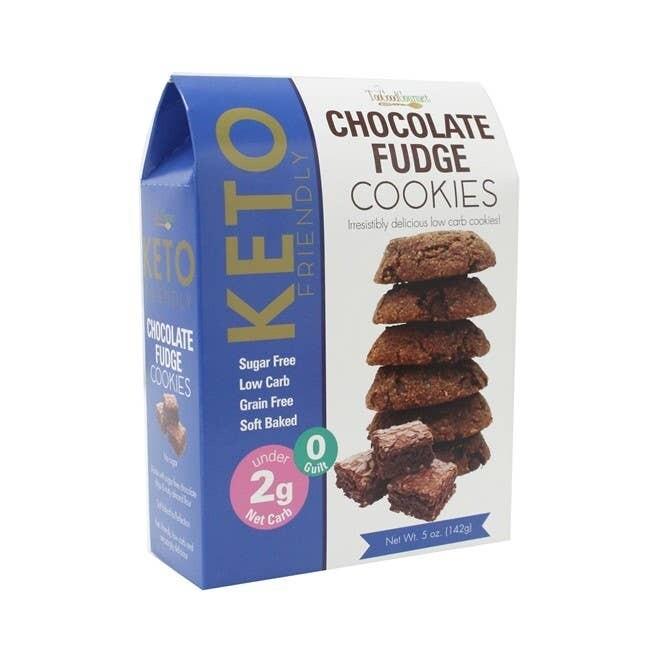 KETO TOO GOOD GOURMET CHOCO FUDGE COOKIES PACKAGED R14