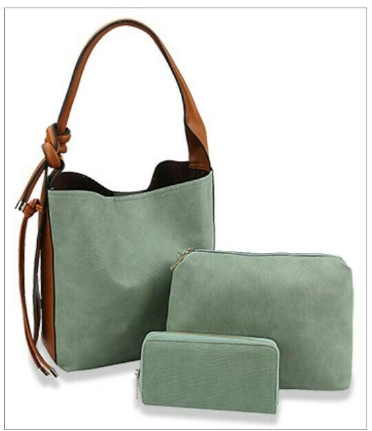 614-115-6178 Two-Tone Handbag R80