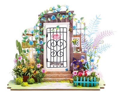 Garden Entrance, DIY Miniature Dollhouse Kit