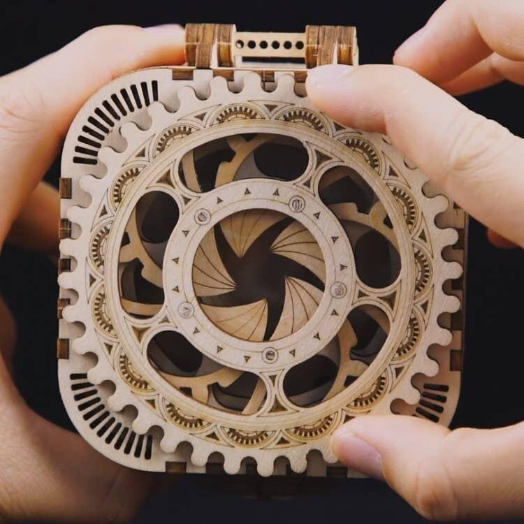 DIY Treasure Lock Box