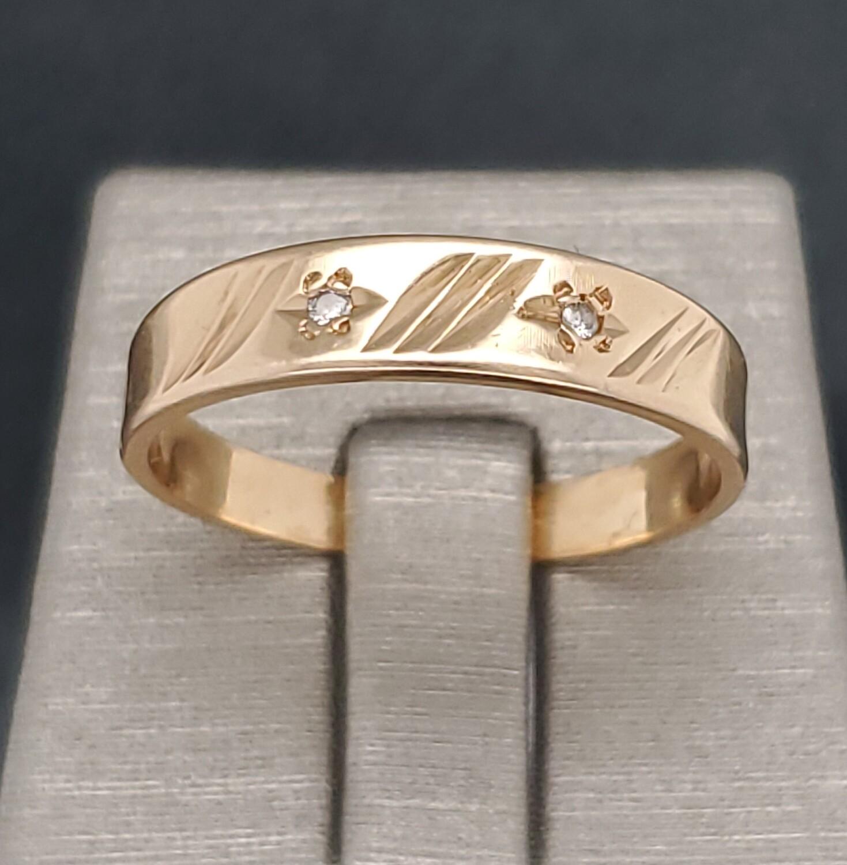 Men's band 14k880-2103R08Sz103mm band