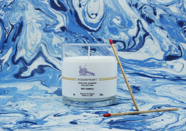 OCEAN FRONT SOY CANDLE 8OZ