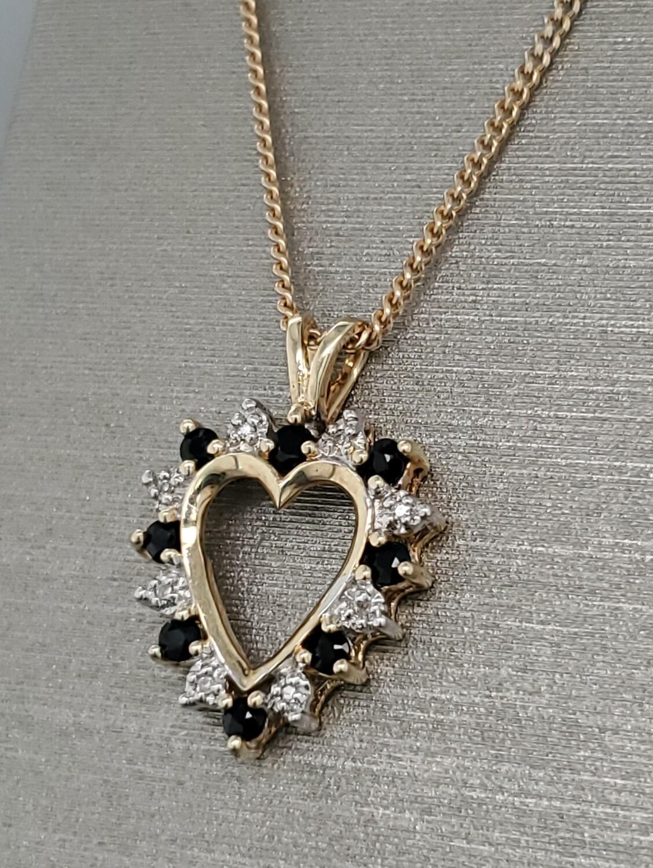 Heart Pendant 10k 880-2103P0222mmx16mm