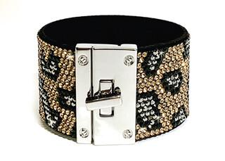 730-22-JKB336 JQ Leopard bracelet R30